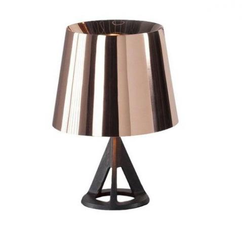 LAMPE DE TABLE BASE LAITON TOM DIXON